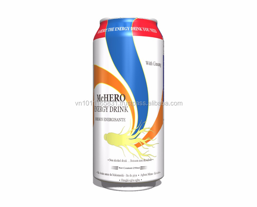 Energy drink 250ml-with Ginseng