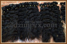 "Unprocessed 8""20""22""24""26"" brazilian remy virgin human hair bulk weft from india"