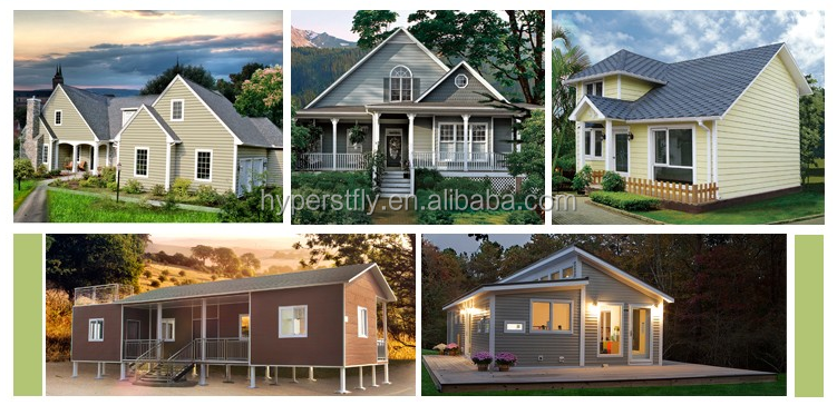 Preconstructed Light Steel Frame Cheap Prefabricated Houses