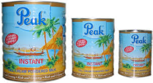 Unsweetened Condensed milk. of very high nutritive content.
