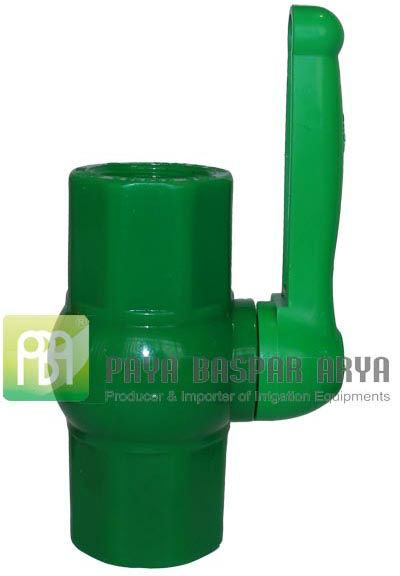 Plastic PVC Compact Ball Valve For Acid