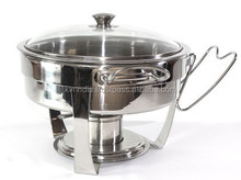 glass lid chafing dish