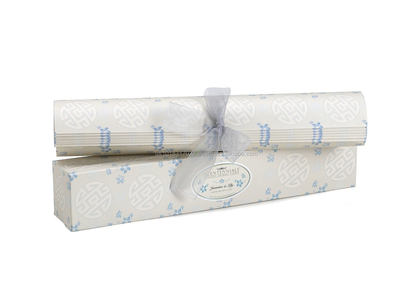Jasmine and Lily Scented Drawer Liner From Scentennials