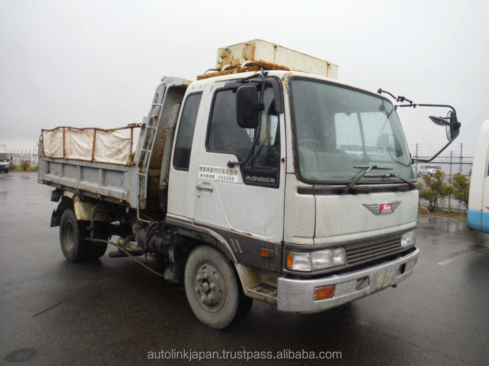 1994 Used Hino Ranger Dump Truck | 4 Ton | H07D Engine | Air Breaks