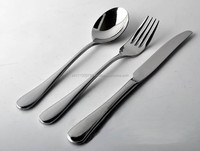 cutlery set of stainless steel