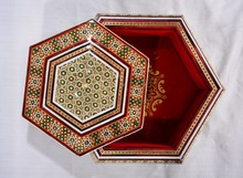 Khatam - Jewellery - BOX - craft - 6walls