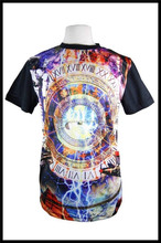 100% Polyester Custom Highlight Sublimated T Shirts