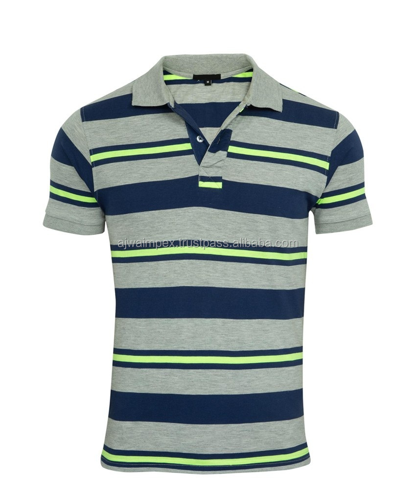 Dove-Grey-Melange-Navy polo t shirts for men