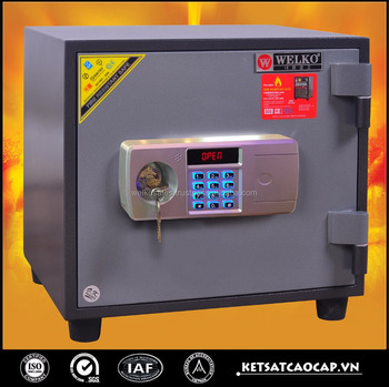 Electronic mini wall mounted digital safe for home hotel use - KCC 41 E