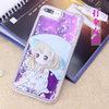 Luxury Glitter Princess Dress Girl Skirt Ultra Thin Custom Soft Tpu Phone Case for iphone 7plus