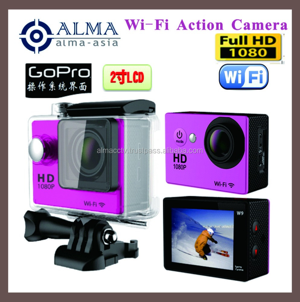 Wi-Fi 1080P Action Camera