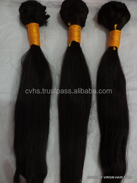 indian hot product remy virgin young lady human hair from indi 8A grade hair