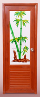 pvc glass door profile from India
