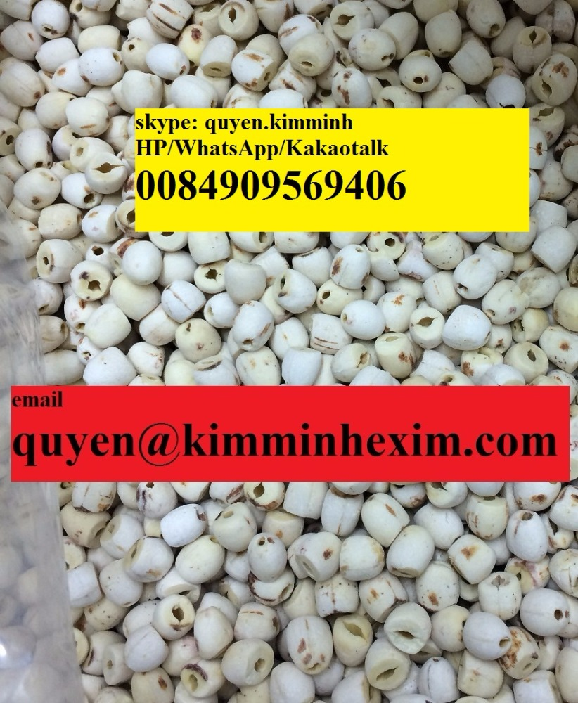 Dried Lotus Seed (hotmail: quyen@kimminhexim.com