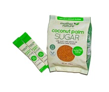 Organic Coconut Palm Sugar - Sachets & Retail Bags (200g) - UK supplier
