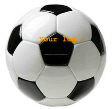 soft pu waterproof leather mini football/soccer ball for children
