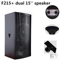 "dual 15"" system high power full range speaker"