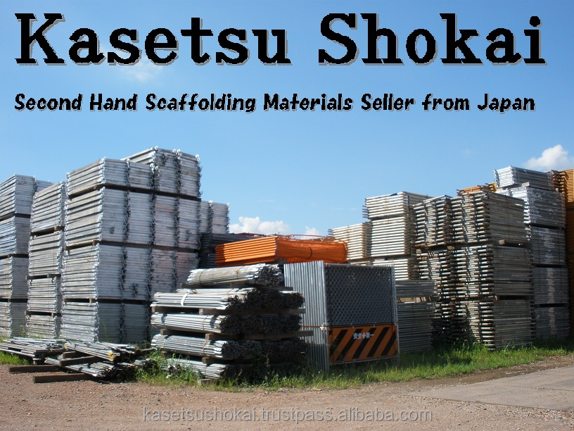Reliable and Durable list building construction equipment Used Scaffold Frames and Brasings Set for construction
