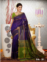 Pure Indian Uppada Handloom Saree
