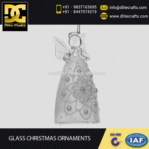 2016 New Hot Sale of Glass Christmas Ornaments for your Christmas Tree