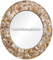Vietnamese Mother of pearl on mirror Frame with glass