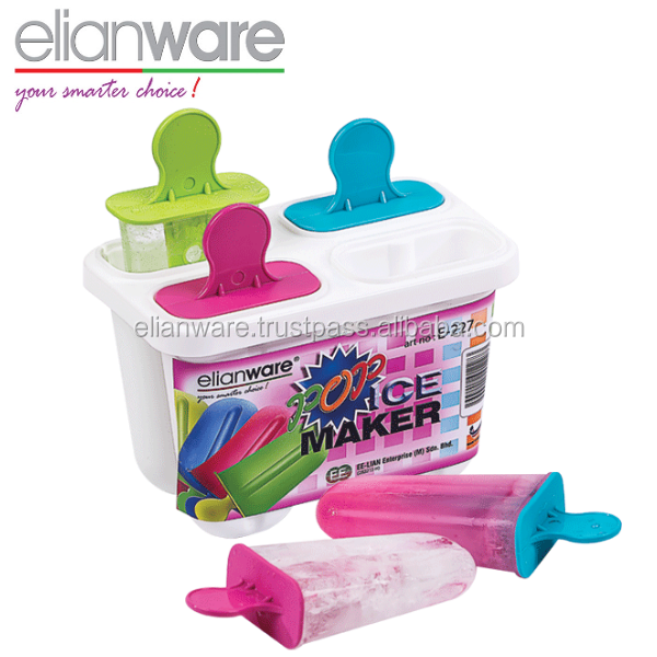 Pop Ice Cream Maker Plastic Mould from Malaysia