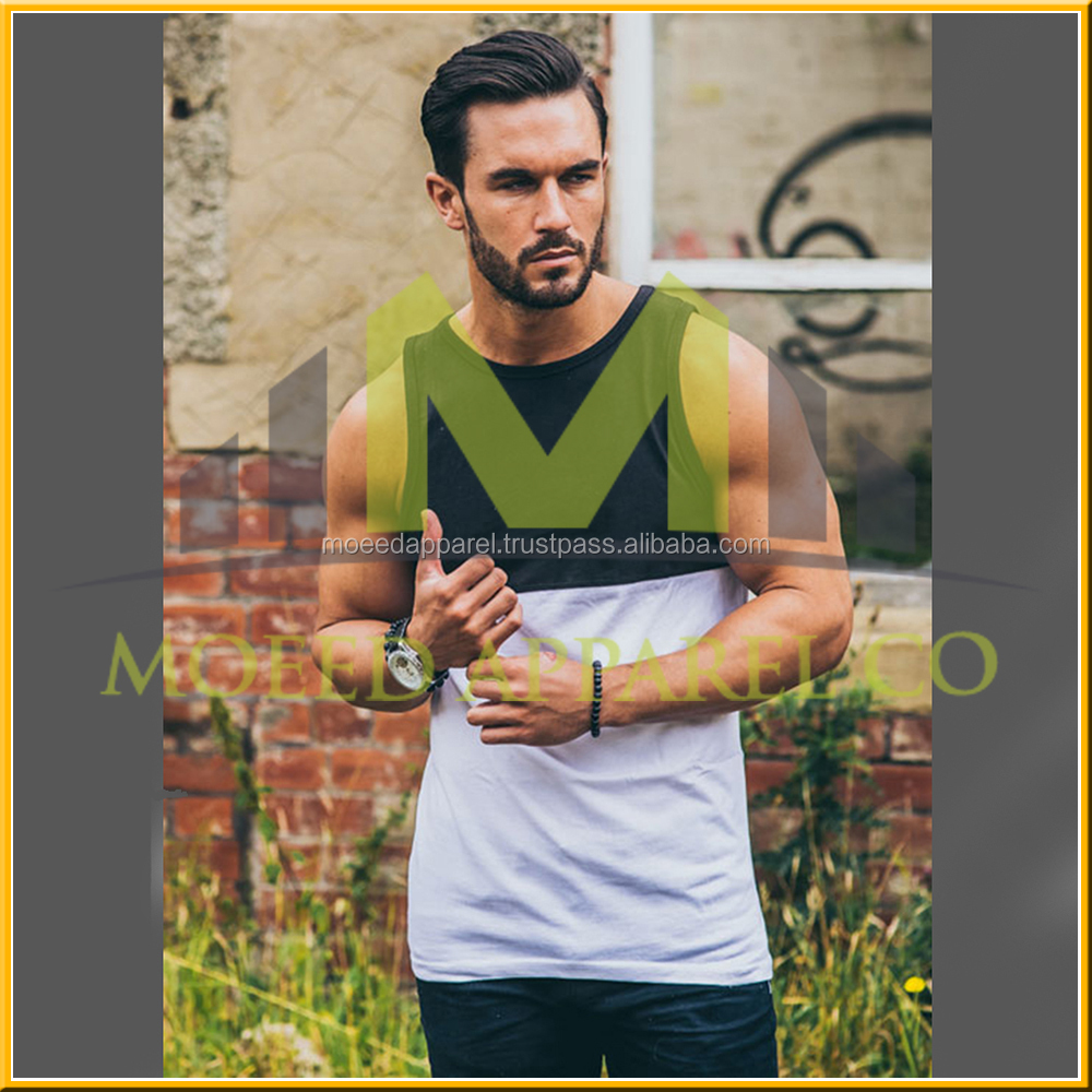 New Model Summer Fashionale Design Men Crew-Neck Tank Top With Chest Pocket Premium Raw Material Men