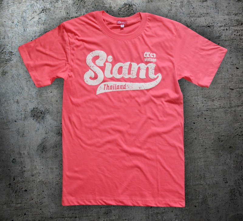 New Design Fashion T-shirt Siam Thailand