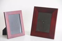Custom wooden fridge magnet photo frames