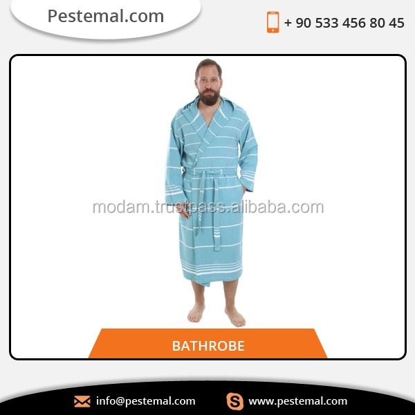 100% Pure Turkish Cotton Quick Dry Towel Bathrobe at Competitive Price