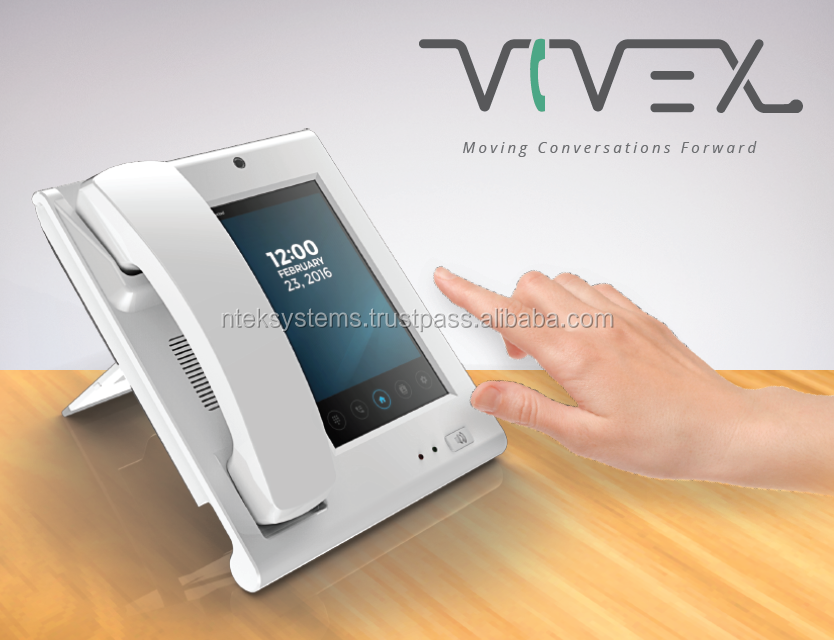 Vivex (VoIP powered, PABX DeskPhone with Built-In SIP Server)