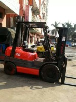 japan made used toyota 2.5t diesel forklift truck
