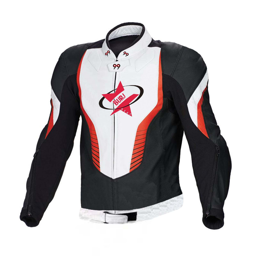 Attractive & New Style Motorbike Leather Jacket - High Quality , 100% Cowhide Leather Jacket