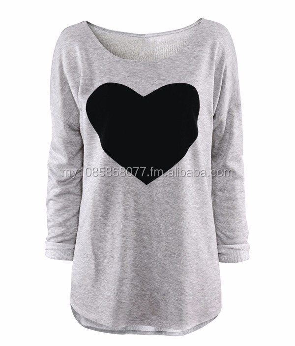 Fashion Women Long Sleeve Sweatshirt
