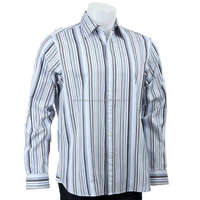 HOT new design long sleeve pinstripe dress shirts for men