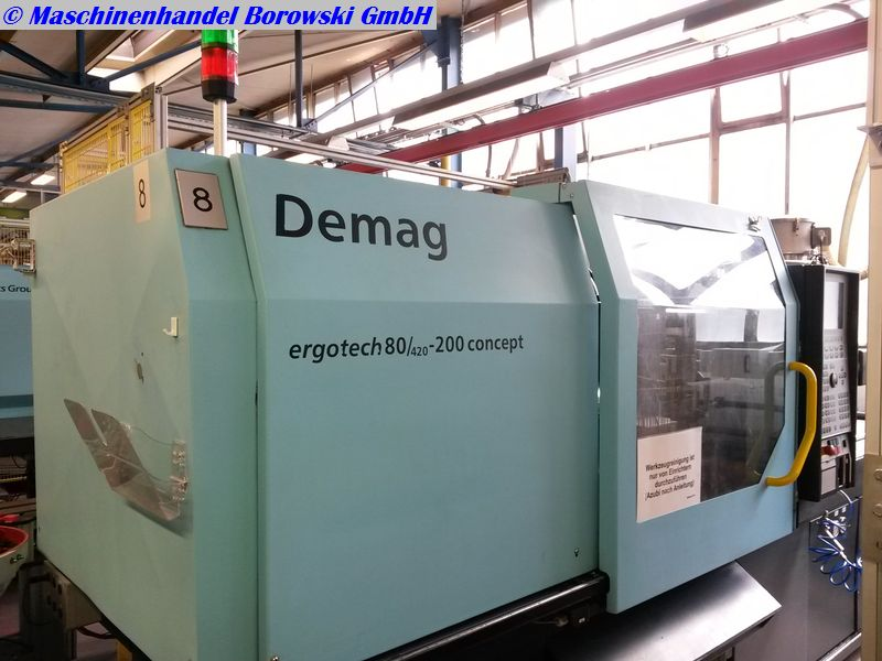 injection molding machine Demag Ergotech 80-200 concept NC4