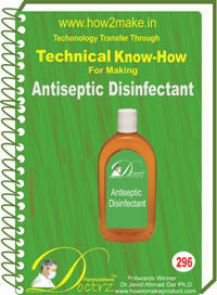 Hospital Disinfecant Technical Knowhow Report