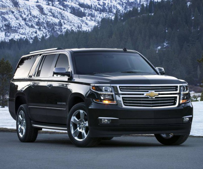 2017 Chevrolet Suburban armored bulletproof BR6 B6 Chevy Tahoe