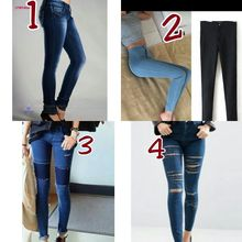 2017 women clothing fall fashion denim pants ladies jeans