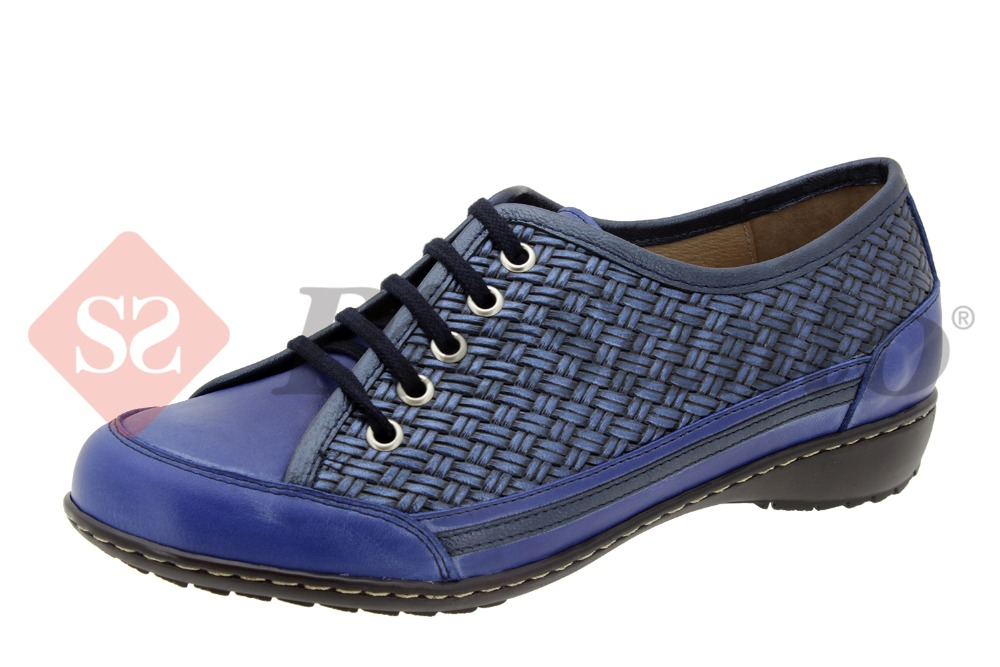 Comfort shoe for womens leather PieSanto 4751 made in spain quality removable insole
