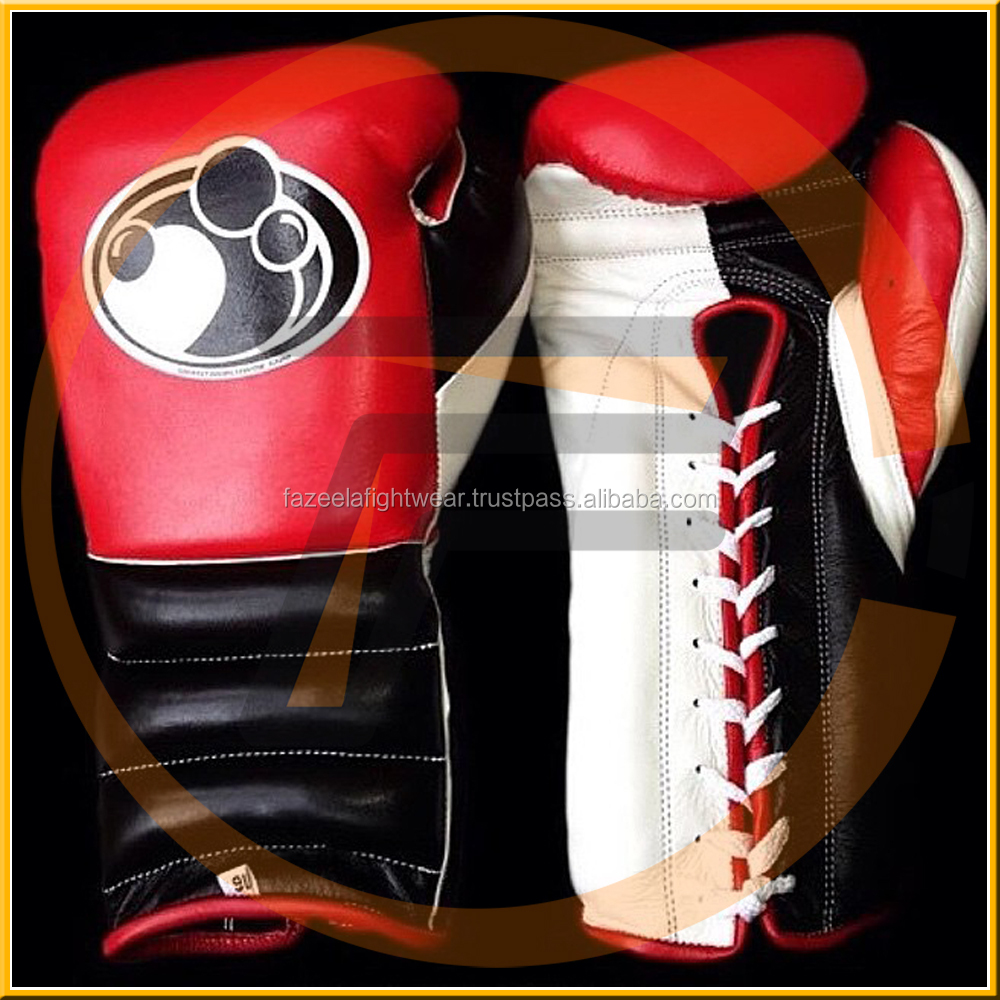 Factory supply customer logo PU grant boxing gloves