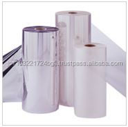 Various types of transparent stretch wrap film for packing fruits and vegetables