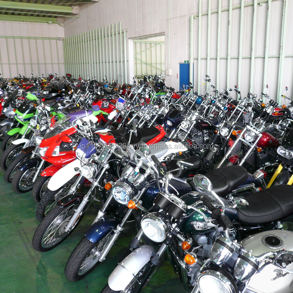 High-performance used motorcycles for sale in Japan at reasonable prices