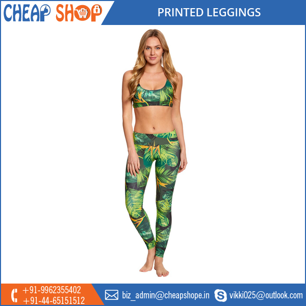 Wholesale Supplier of Sports Printed Leggings for Women