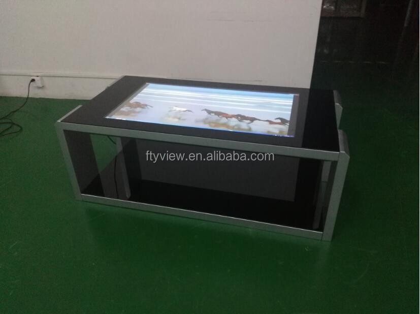 Multi touch table digital signage touch kiosk PC capacitive touch table