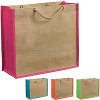cheap prices of jute bag manufacturers Customized Reusable jute shopping bag wholesale
