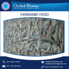 Wide Range of Various Size Frozen Vannamei Shrimp at Competitive Rate