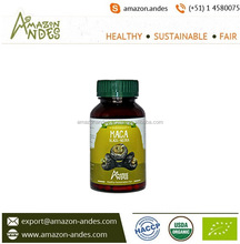 Best Selling Gelatinized Black Maca Powder Available in Capsule Form