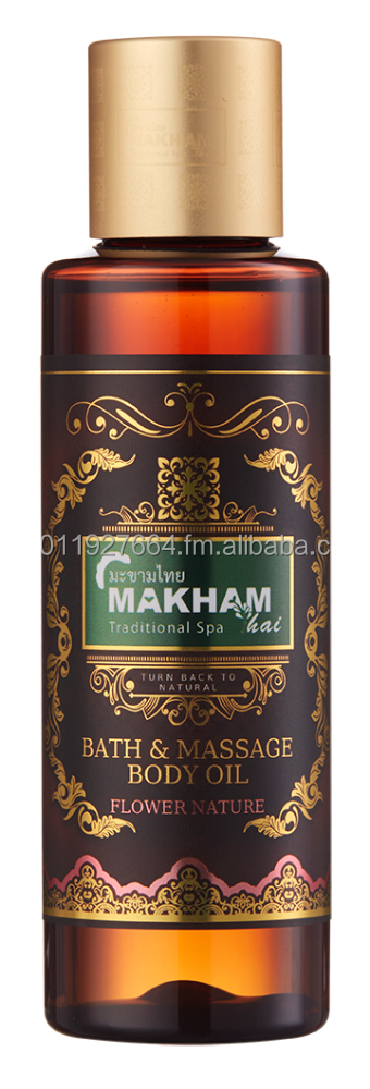 MAKHAMTHAI Flower Nature Bath & Massage Body Oil