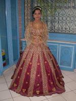 Moroccan Wedding Dress/Kaftan 2016